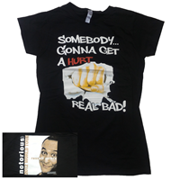 Somebody Notorious 2012 World Tour T-Shirt (Women's) image
